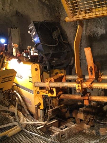 Underground Drilling - 6 Level 2015